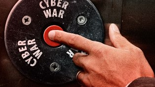 cyber war button ars